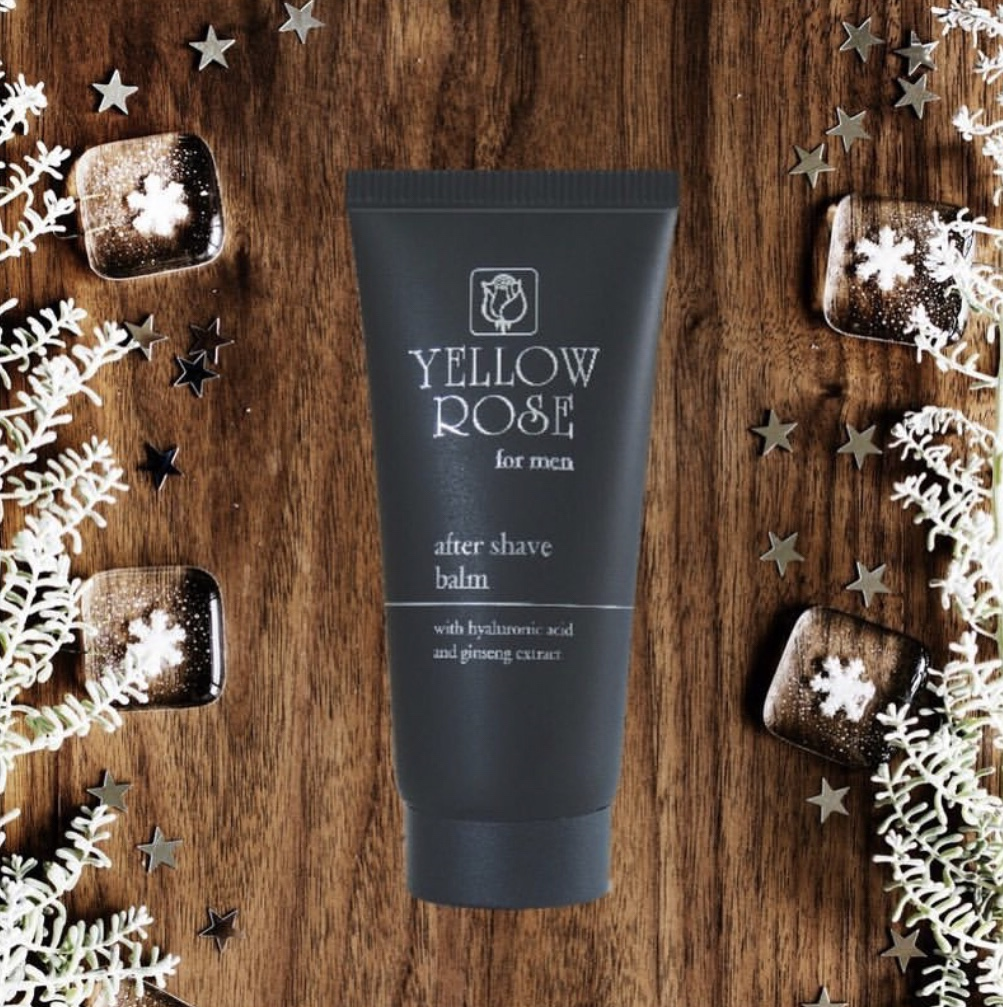 yellow rose after shave